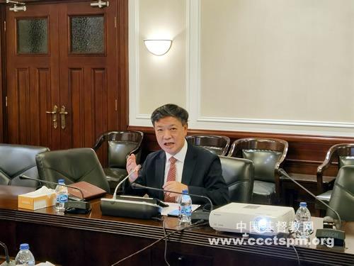 吴巍牧师出席G20信仰间论坛