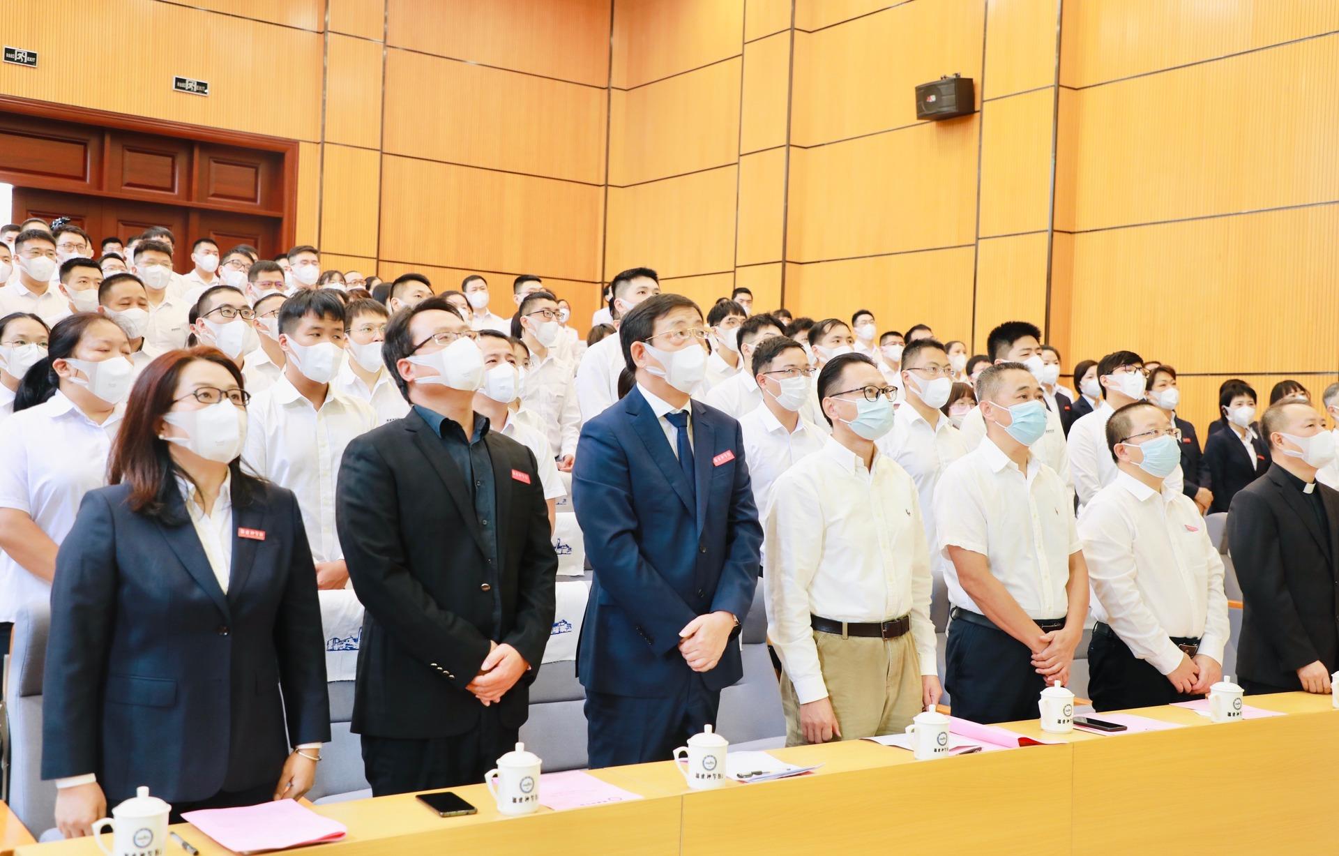 福建神学院举行新学年开学式