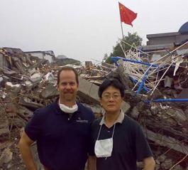 美国撒玛利亚救援会用波音专机运物资支援四川灾区