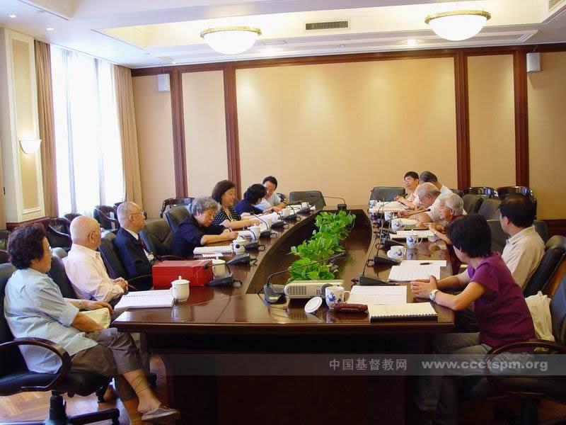 本届基督教全国两会圣乐事工委员会第一次会议及扩大会议召开