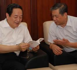 上海市委书记俞正声等领导同志看望基督教全国两会负责人