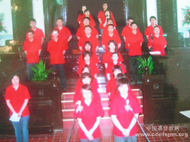 上海诸圣堂的青年夏令会举行特别献唱