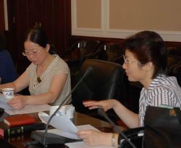 本届妇女和青年事工委员会第一次会议在沪举行