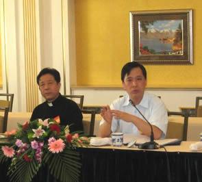 中国基督教代表出席全国政协民族和宗教委员会、国家宗教局主办的发挥宗教界积极作用研讨会