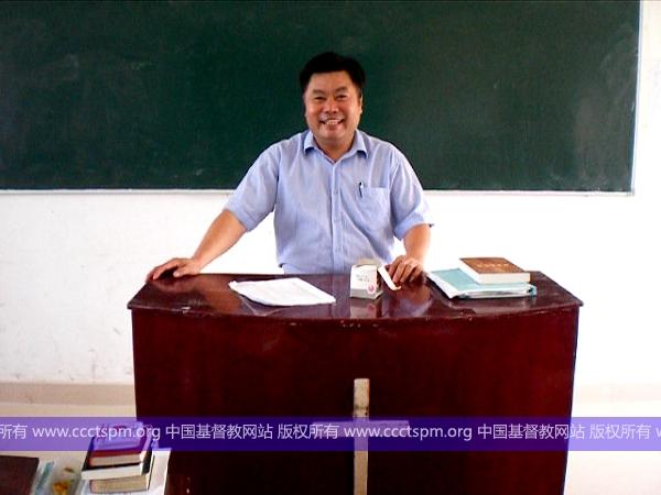 """江西圣经学校在三自爱国运动58周年纪念日为学生举行""""三自""""讲座"""