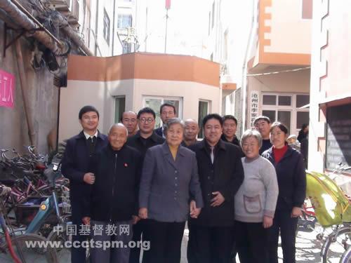 天津基督教两会访问河北省沧州基督教两会并举行培灵聚会