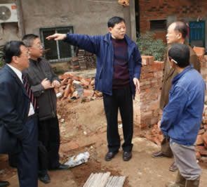 武汉市基督教两会负责同工考察农村教会