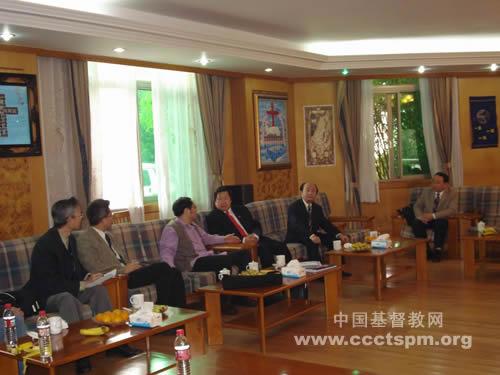 纽约神学教育中心访问浙江杭州