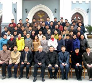江苏省基督教圣经专科学校教牧班开学