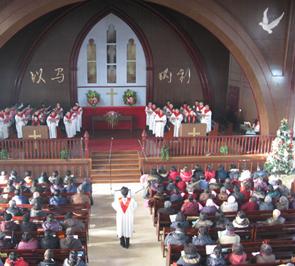 北京基督教大兴福音堂举办圣乐崇拜会