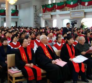 新疆乌鲁木齐基督教会举行2009年迎新年感恩赞美会