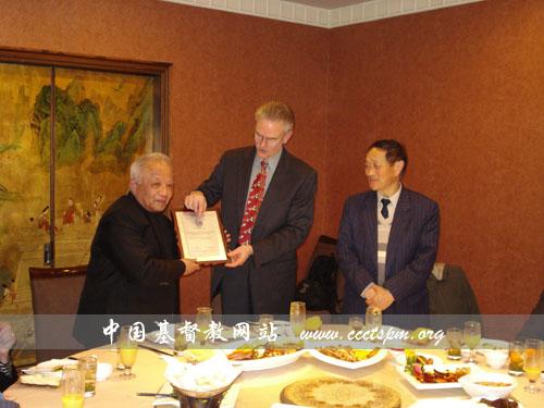 美国基督教教会联合会会长维肯•艾卡斯恩大主教一行访问浙江神学院及杭州教会