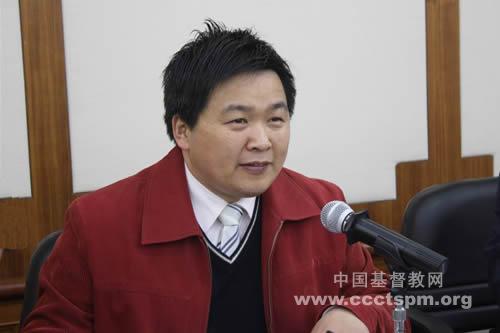 《天风》主编单渭祥牧师应邀到上海市两会进行通讯员培训讲座