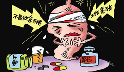 精神紧张令中国年轻人胃癌比例30年翻一番