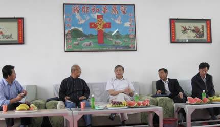傅先伟长老赴宁夏回族自治区教会调研
