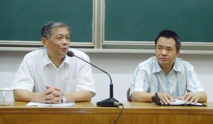 傅先伟长老应邀到华东神学院讲座