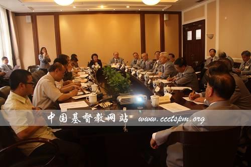 香港华人基督教联会主席一行访问基督教全国两会