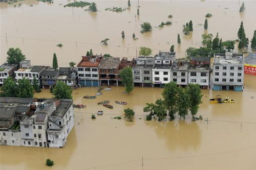 请代祷!!!中国南方水灾泛滥 近十省逾千万人受影响