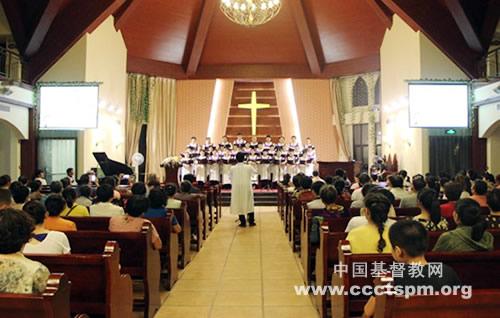 """奇异恩典 声部_无锡荣巷基督教堂首次举办""""荣归上主""""圣乐崇拜"""